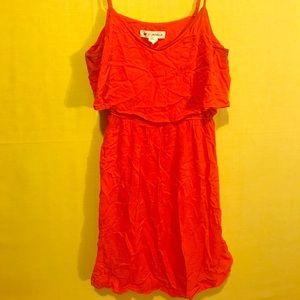 H&M COACHELLA Orange Dress